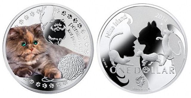 Кошачьи монеты для ценителей нумизматики