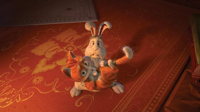 Отважный котенок приглашает на мультфильм «Кот Гром и заколдованный дом»