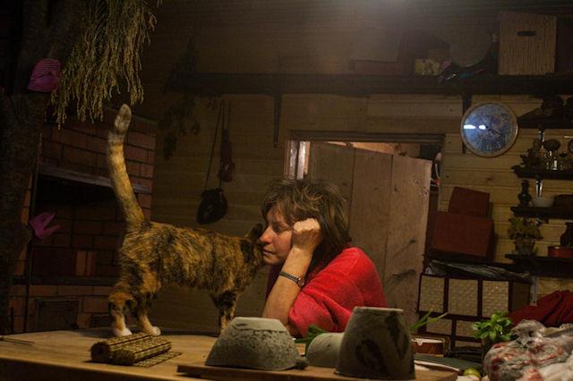 Жительница Москвы превратила кошку в «чучело»