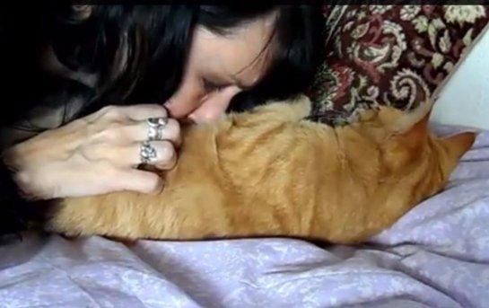 Англичанка вышла замуж за своих котов