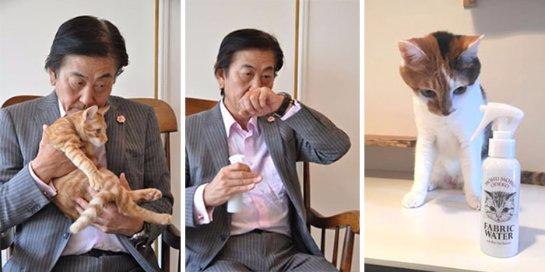 Японцы придумали спрей с запахом кошки