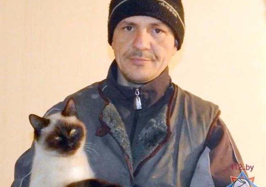 В Белоруссии кошка спасла своих хозяев от пожара