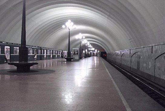 В Санкт-Петербурге на станции метро спасли котенка
