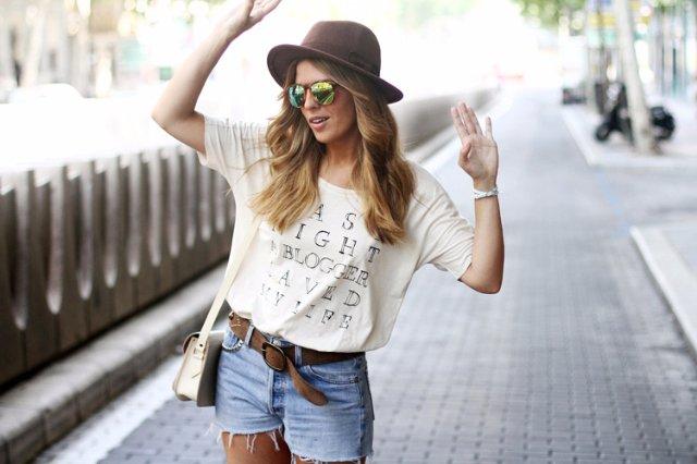 Тенденция в моде футболок