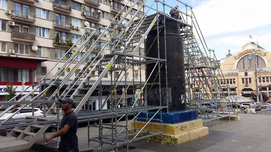 В столице на бульваре Тараса Шевченко на месте Ленина появится арт-объект