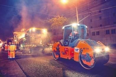 Киевсовет обязал дорожников ремонтировать асфальт лишь по ночам