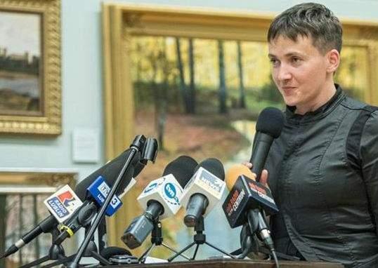 Надежда Савченко предложила начать исторический диалог между Украиной и Польшей