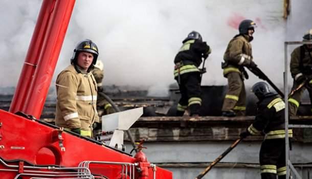 Пожар в метрополитене Москвы