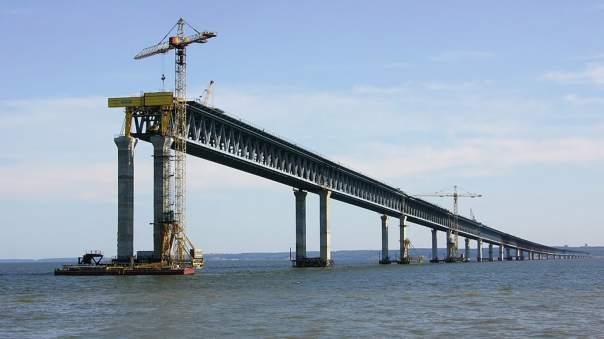 Названа итоговая стоимость строительства Керченского моста