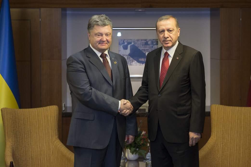 """Эрдоган: """"Ничто не повлияет на укрепление украинско-турецкого стратегического партнерства"""""""