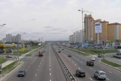 Движение  автотранспорта по Надднепрянскому шоссе будет ограничено