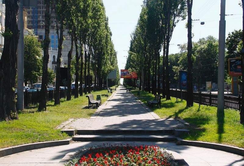 На бульваре Шевченко в Киеве появится инсталляция под названием