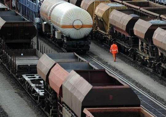 Пограничники РФ не пропустили тридцать железнодорожных вагонов из Украины