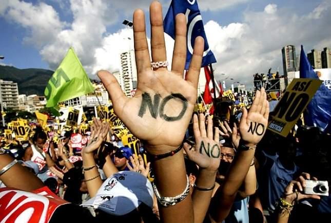 Протест в США. Несколько тысяч протестующих заблокировали движение транспорта в Атланте