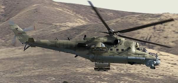 Возле Пальмиры сбит сирийский вертолёт