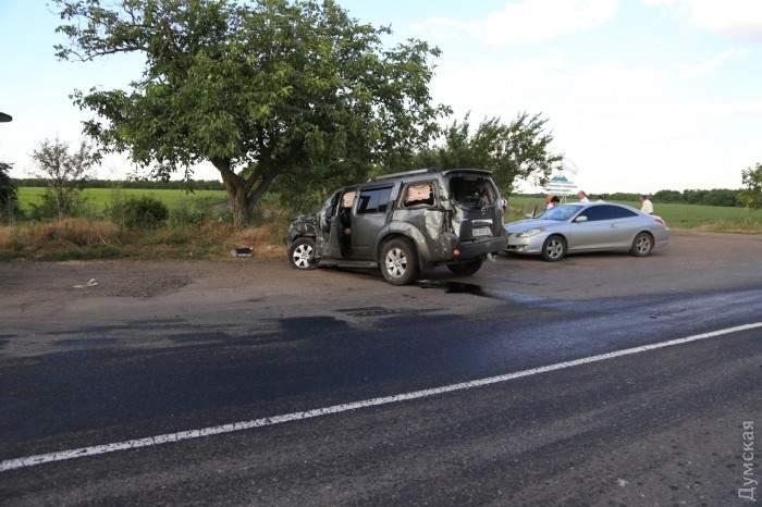 ДТП на трассе Одесса — Кучурган. Есть пострадавшие