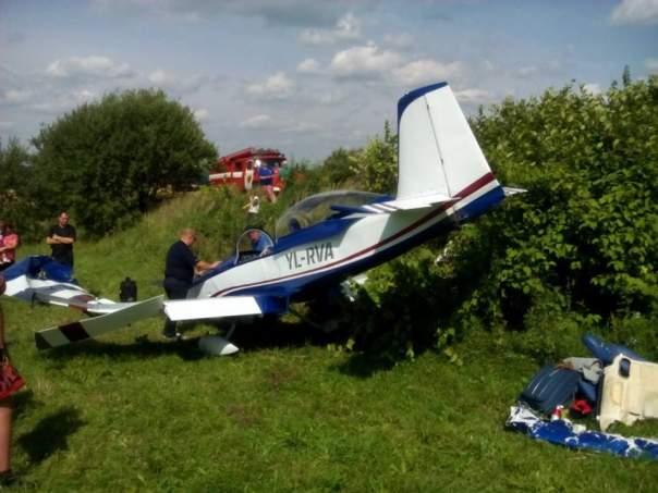 Во Львовской области произошла аварийная посадка самолёта