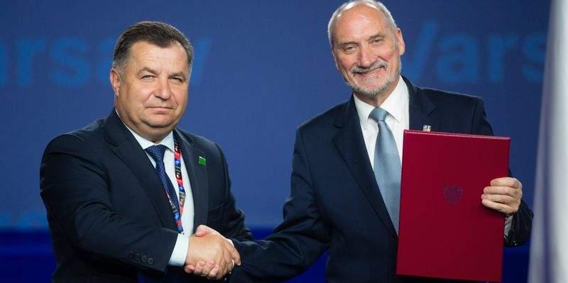 Минобороны Польши и Украины подписали Протокол о сотрудничестве