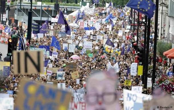 Британские власти отклонили петицию о проведении повторного референдума