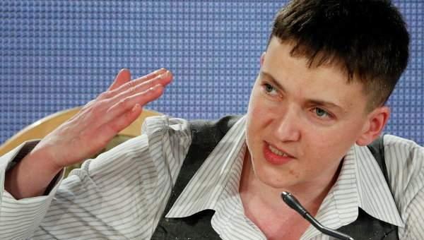 Надежда Савченко с опозданием в один час выступила с речью в НАТО
