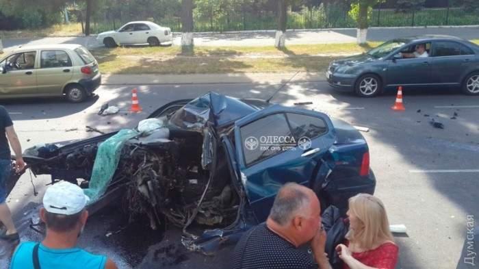 В Одессе произошло смертельно ДТП на Пересыпи