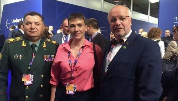 Савченко призвала западных политиков помочь Киеву в освобождении осужденных в РФ