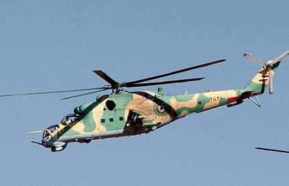 Экипаж боевого вертолета Ми-25 погиб в Сирии