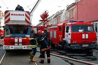В Москве произошло возгорание на подстанции