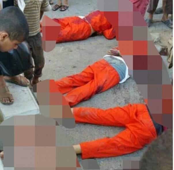 ИГИЛ казнили сирийских футболистов в присутствии детей