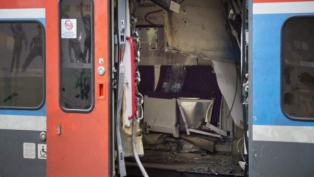 В Чехии столкнулись поезда, есть раненые