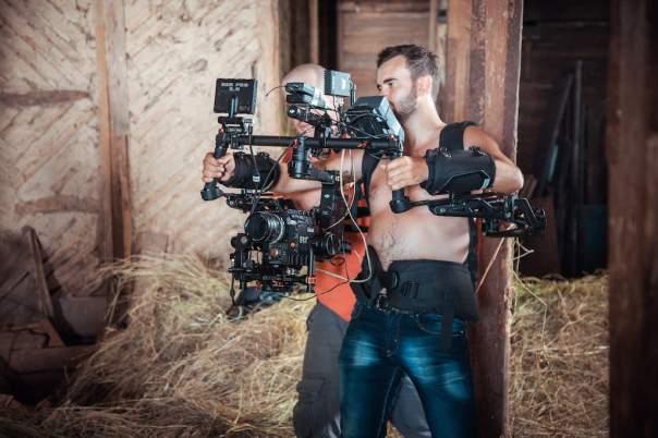 Под Киевом снимают мистический триллер в 3D-формате