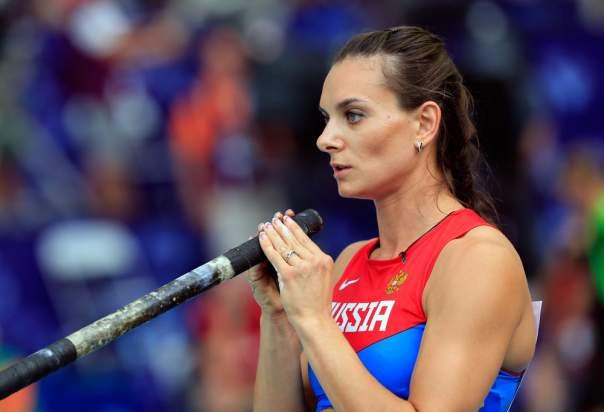 Россиянке Исинбаевой запретили выступать на ОИ-2016