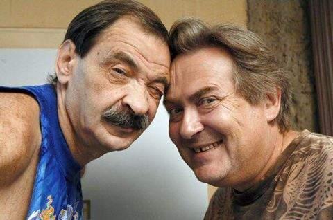 Сегодня день рождения у актеров Ильи Олейникова и Юрия Стоянова