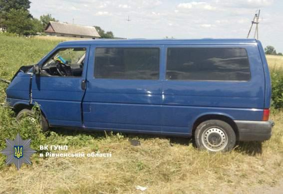 На дороге Луцк - Дубно в ДТП погиб пассажир
