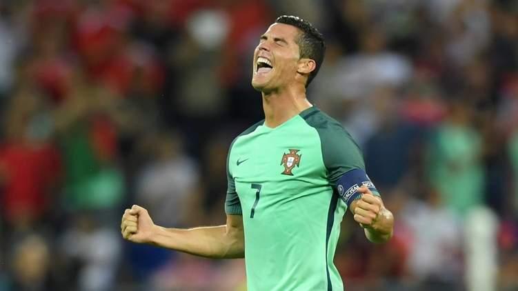 Гол Криштиану Роналду был назван самым лучшим в полуфинале Евро 2016