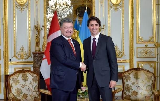Премьер-министр Канады Джастин Трюдо в воскресенье прибыл в Украину