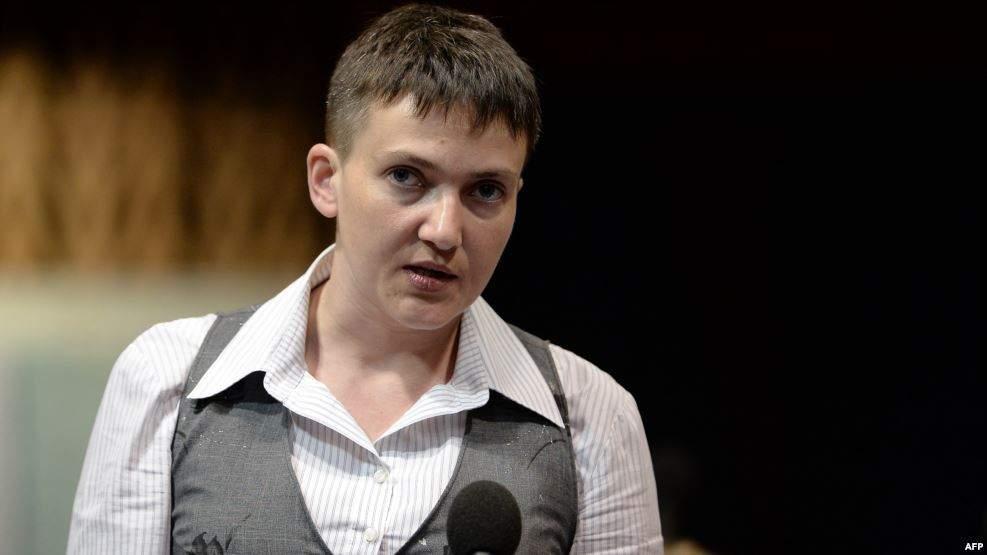 Савченко заявила, что в перспективе Украина должна стать членом НАТО