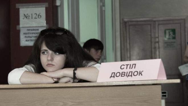11 июля украинские вузы начинают принимать от абитуриентов заявки