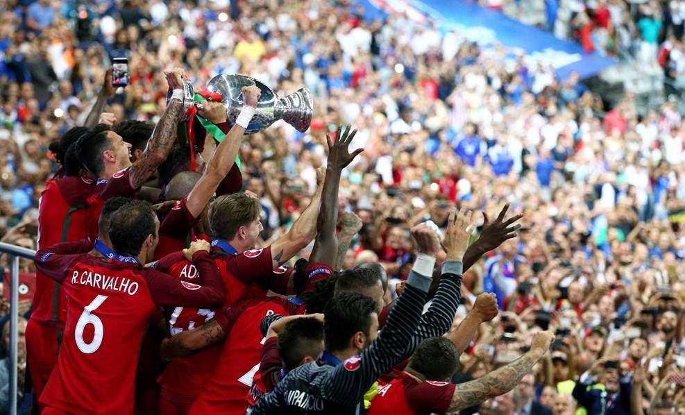 Португалия впервые стала чемпионом Европы