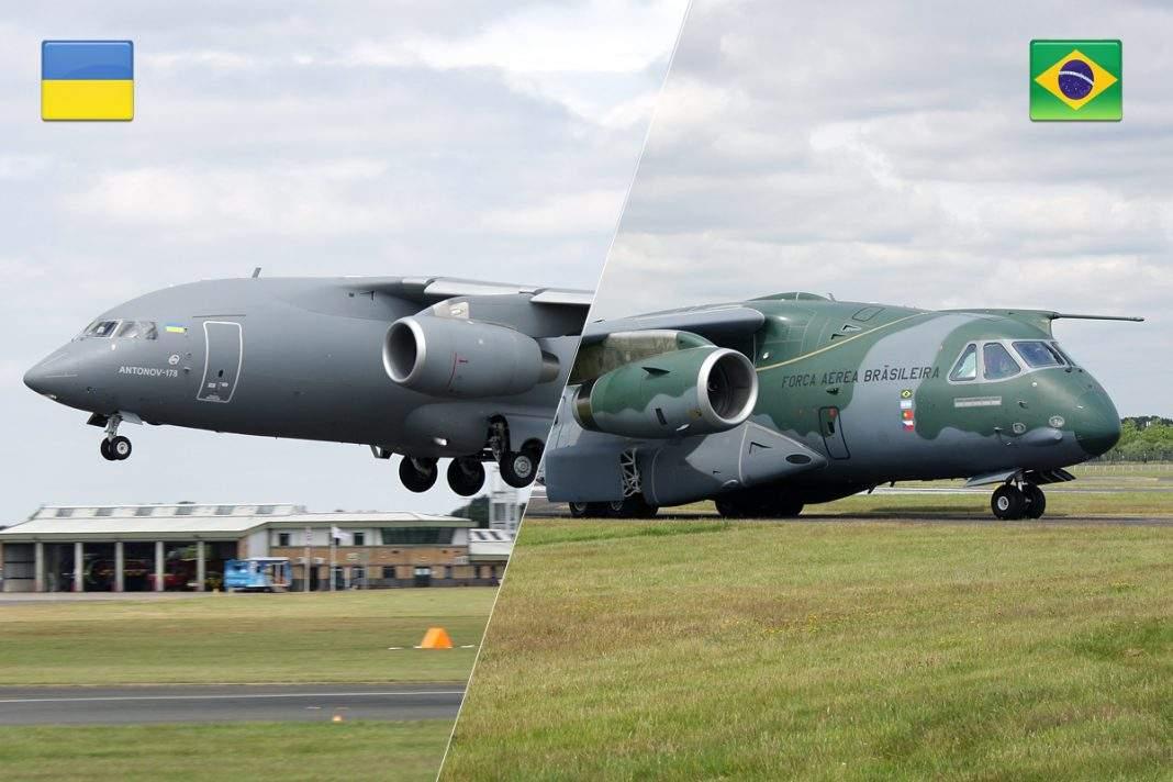 В Великобритании встретятся украинский Ан-178 и бразильский Embraer KC-390