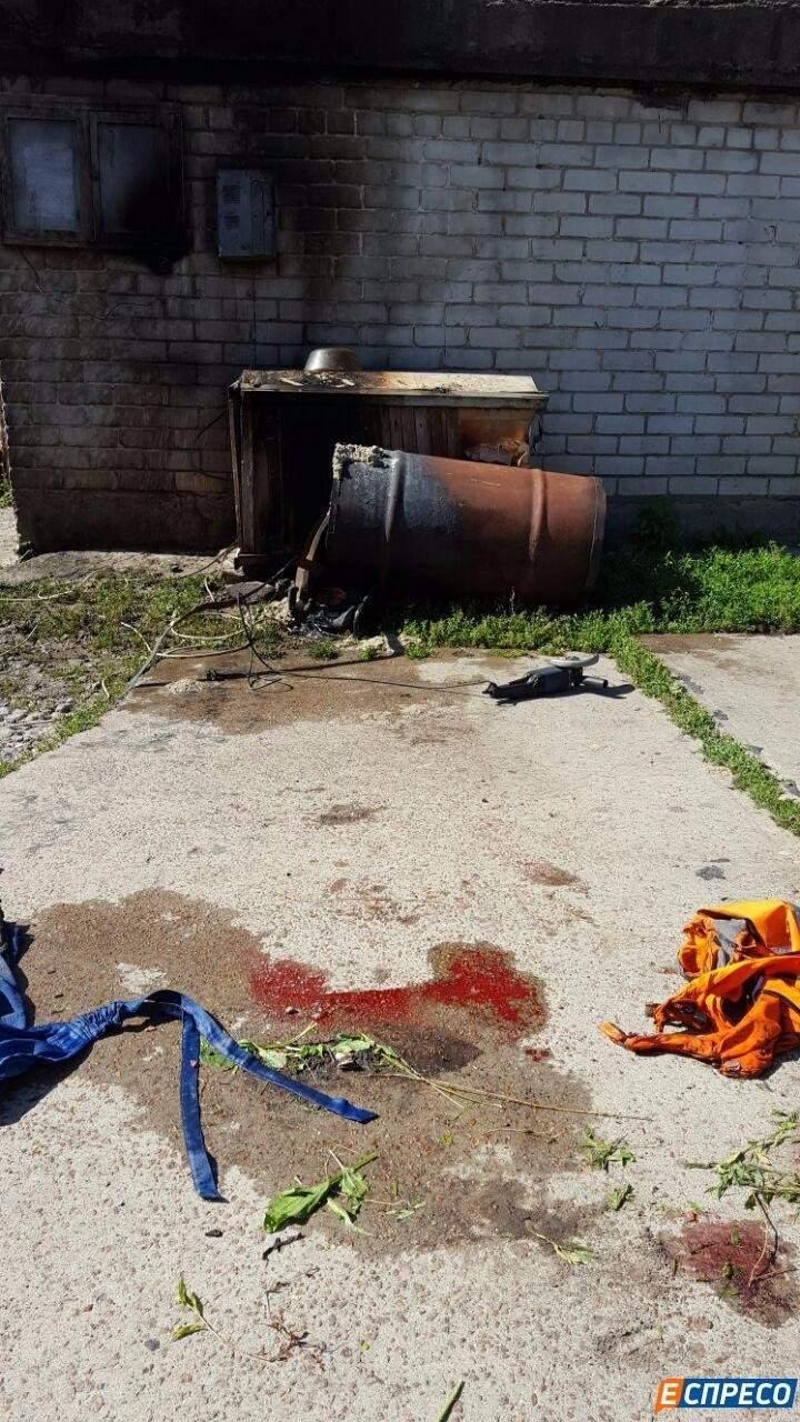 В Соломенском районе Киева произошел взрыв