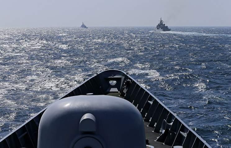 Учения НАТО стартовали в водах Черного моря
