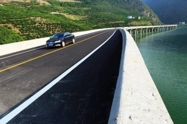 В Китае построили «экологическое шоссе»