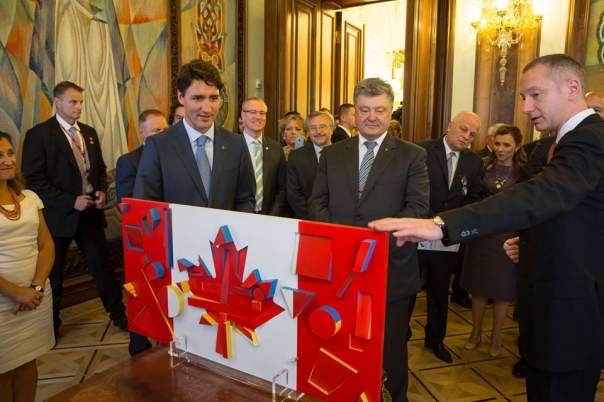 Украина приготовила для Канады особый подарок