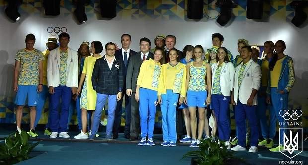 НОК презентовал новую форму украинской сборной на Олимпиаду 2016