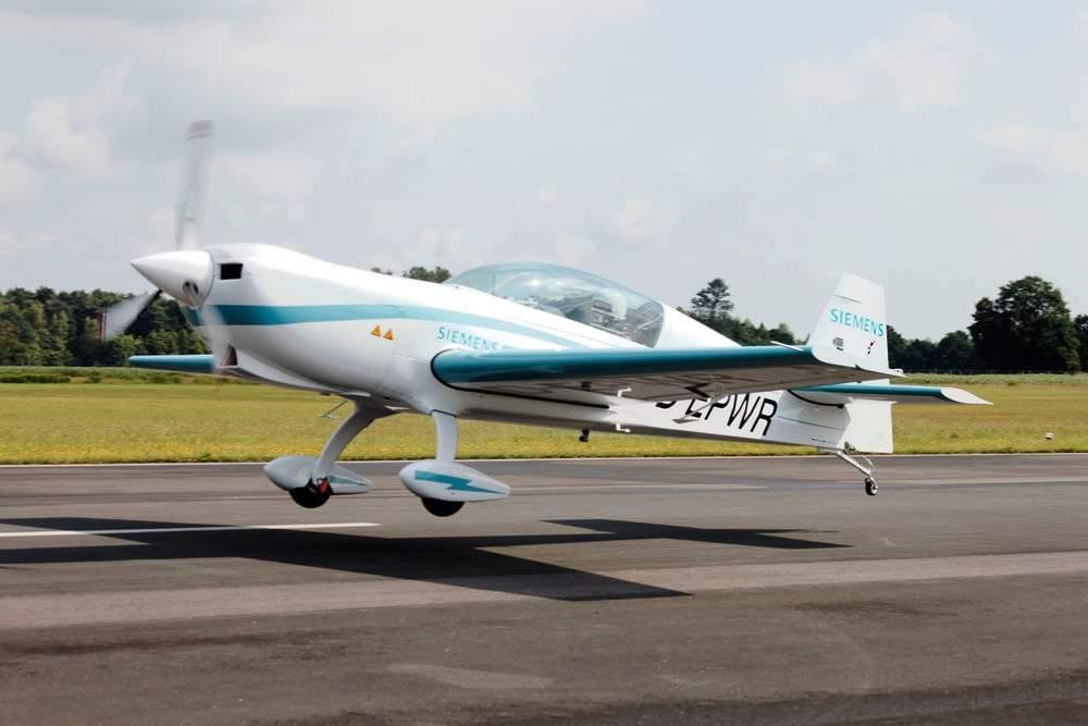 Siemens представила новый тип электрических самолетов