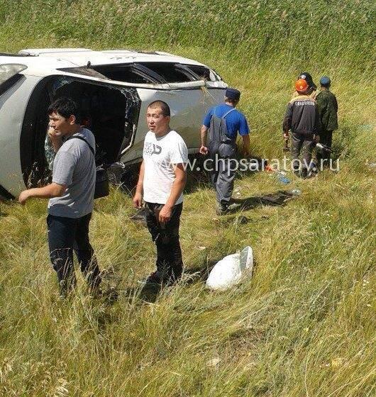 В Саратовской области в результате ДТП есть погибшие