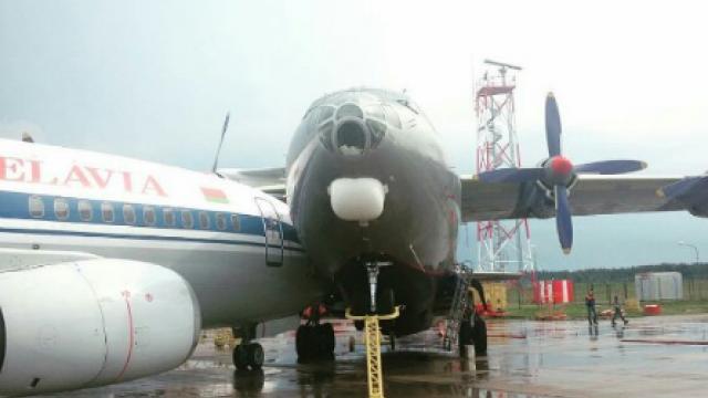 Первые фото самолетов, столкнувшихся в Минске