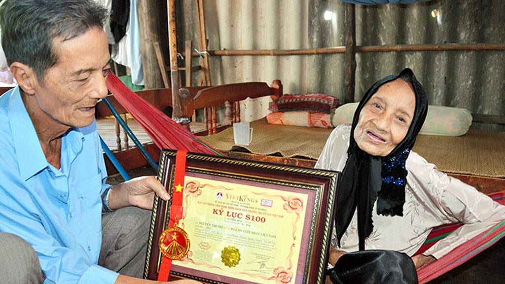 Нгуен Тхи Чу скончалась на 124-м году жизни