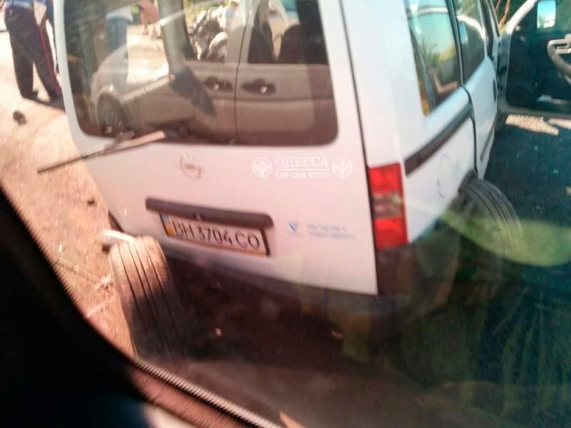 В Одесской области перевернулся пассажирский автобус. Есть пострадавшие